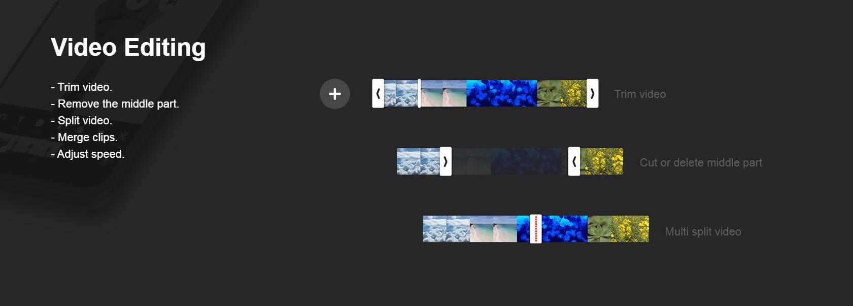 Приложение для создания видео сторис InShot